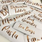 Personalised Vinyl Labels – Individuals