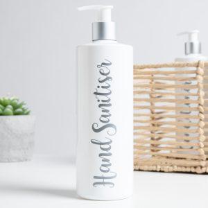 500ml Luxury White Pump Bottle – DYO