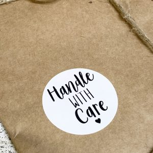 Handle with Care Stickers x 48