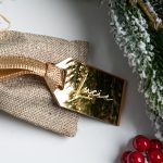 Personalised Mirror Gold Tag