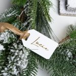 Personalised White Gift Tag