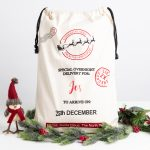 Personalised Sleigh Christmas Santa Sack