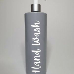 250ML Luxury Grey Pump Bottle – DYO