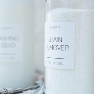 Individual Waterproof White Label