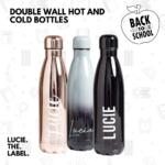 Personalised 500ml Double Walled Water Bottle